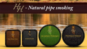Mac Baren Tobacco, Smokingpipes.com, Mac Baren HH, Mac Baren HH Pipe Tobacco, Old Dark Fired, Latakia Flake, Acadian Perique, Vintage Syrian, Danish Pipe Tobacco,