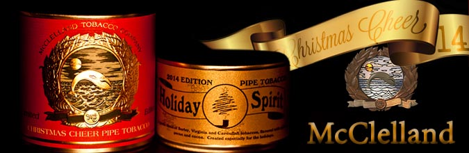 McClelland – Christmas Cheer 2015 | Confessions of a Pipe Smoker